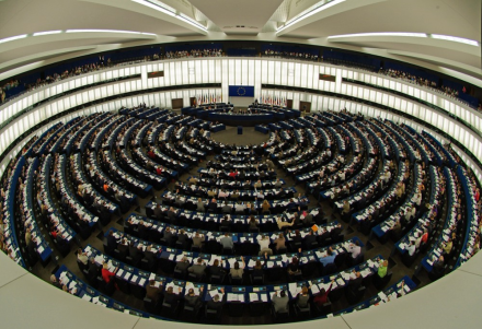 foto zaal Europees Parlement